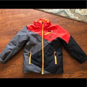 Boys Size 10 Spyder Winter Coat